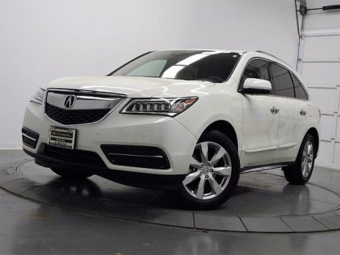 Certified Used Acura MDX with Advance Package
