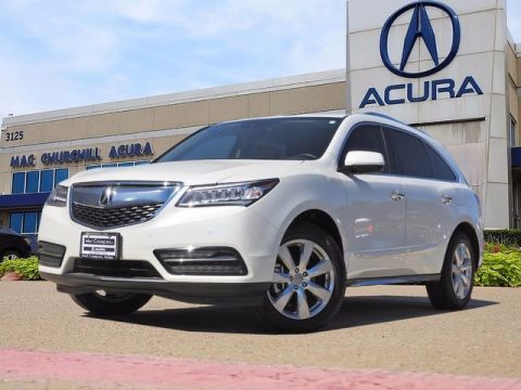 Certified Pre-Owned 2016 Acura MDX with Advance Package With Navigation