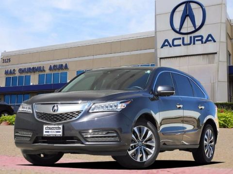 Certified Used Acura MDX SH-AWD with Technology Package
