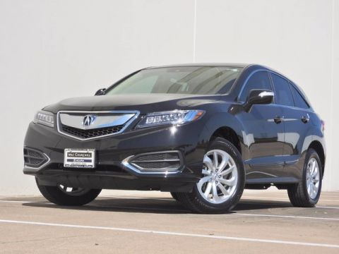 Certified Used Acura RDX with Technology and AcuraWatch Plus Packages