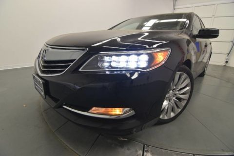 Certified Used Acura RLX with Advance Package