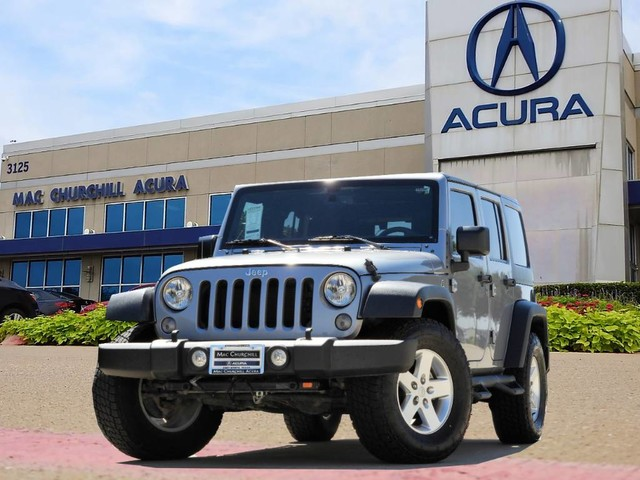 Pre Owned Jeep Wrangler Unlimited Sport Suv In Fort Worth